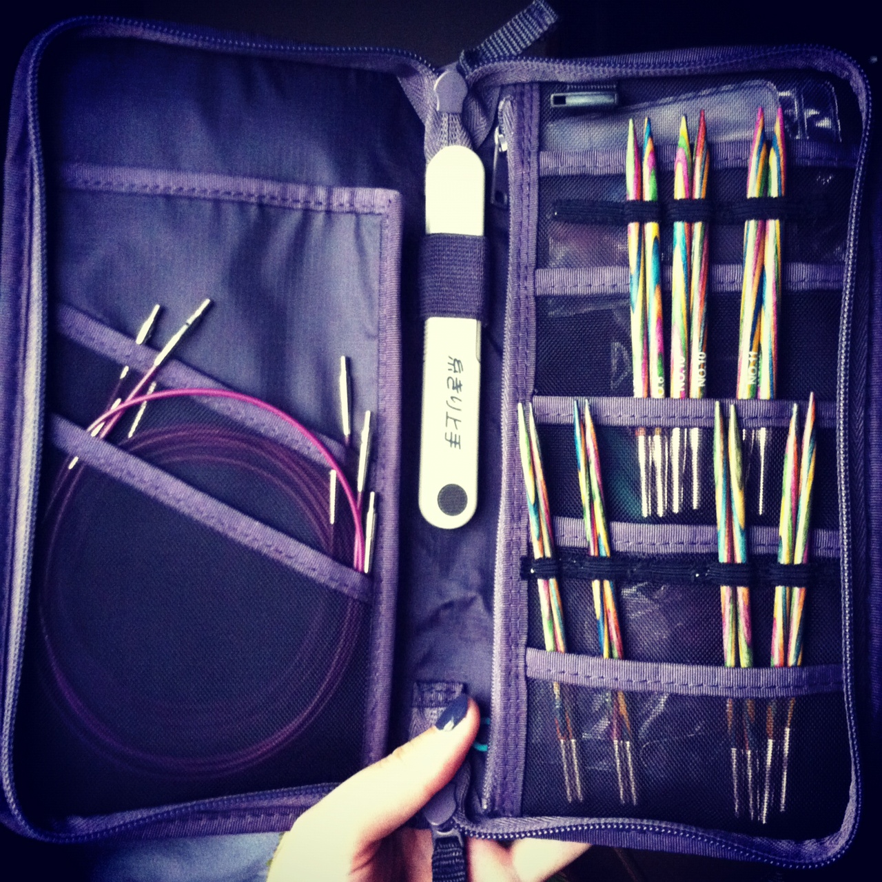 Knitting Needle Case Diy : Diy knitting needle case my amimono life