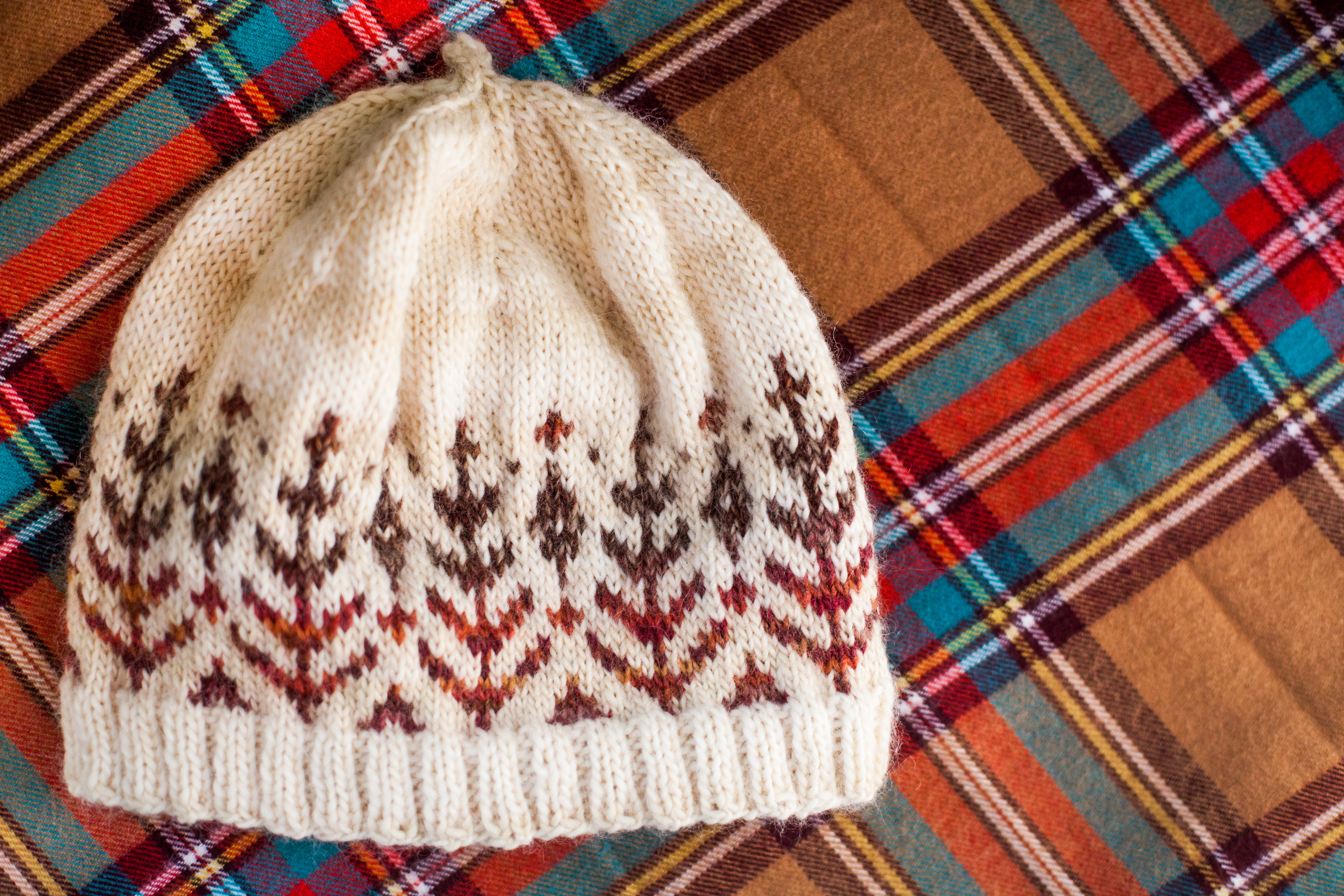 Knitted Baskets Free Patterns : purl bee fair isle hat My Amimono Life